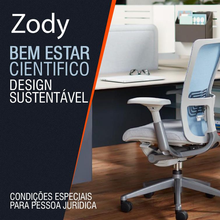 ZODY - cadeira ergonômicas de trabalho de alta performance para escritório, posto de trabalho, sala de reuniões,